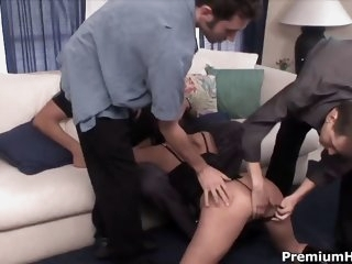 Fuck slut ripped off all holes
