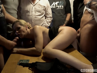 Anal Squirt and DP GangBang..