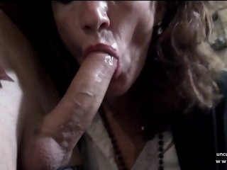 Horny french mature cougar..