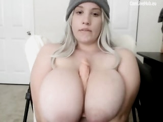 GIGANTIC BOOBS BBW TEEN CAM..
