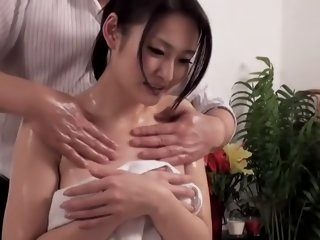 Oiled Asian darling prefers..
