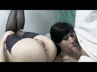 Threesome, FFM, anal and ass..