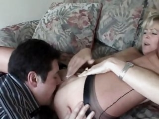 British MILF With the Landlord