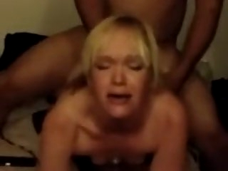 Blonde Wife lets BBC..