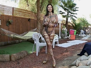 Outdoor fun with a tattooed..