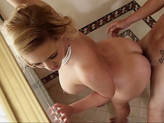 Hot MILF driven nuts with..
