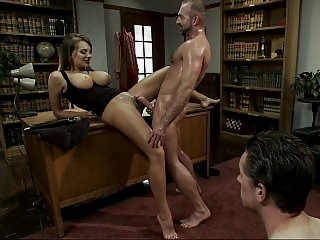 Sexy wife rammed hard with..
