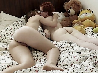 Lesbian sex with her best..