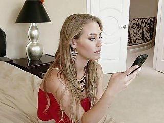 Nicole Aniston is back from..