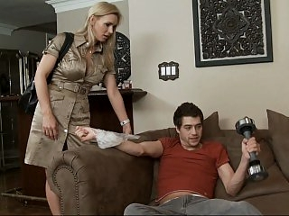 Tanya Tate and her son's..