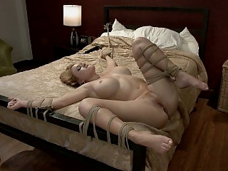 Tied and fucked hard in the..