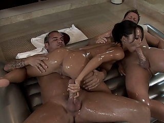 Asa Akira in Double Action