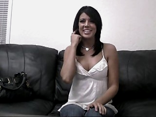 18 year old Jenna spreading