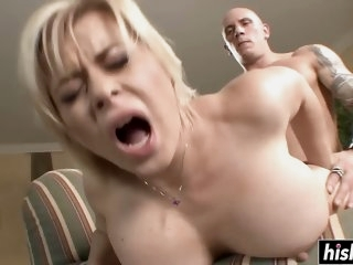 Amazing blonde MILF craves..