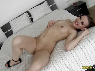 Olivia Grace having fun at..