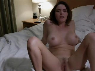 Hot busty wife fuck hubbys..