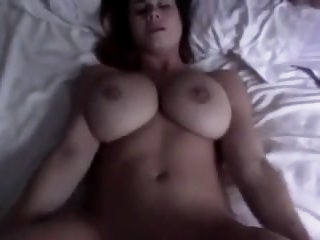 Lovely face with big tits