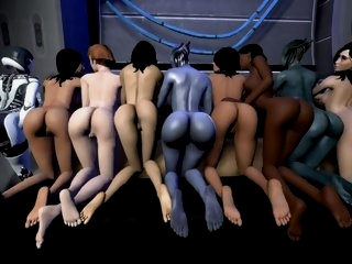 Mass Effect 3D sex..
