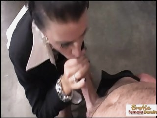 Cougar boss wants his cock..