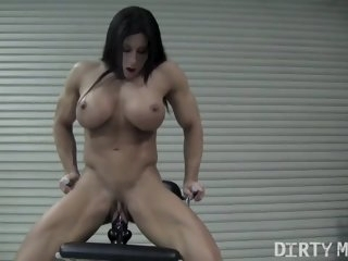 Angela Salvagno Rides A Big..