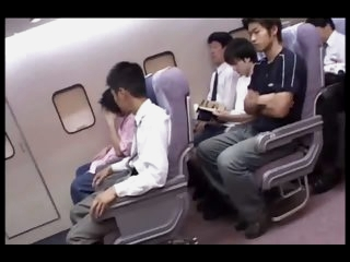 Japanese cabin attendants..