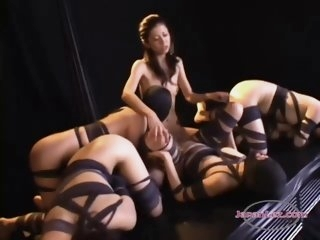 4 Slave Girls In Mask..