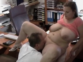 Sexy German BBW gets fucked..