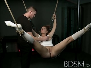 BDSM XXX Beautiful sub does..