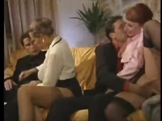Italian Orgy With Mature..