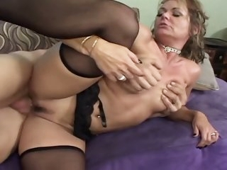 HORNY MILF DRILLED BY..