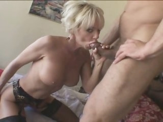 Hot Mature Blonde Cougar..
