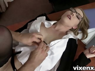 Bad secretary punished with..