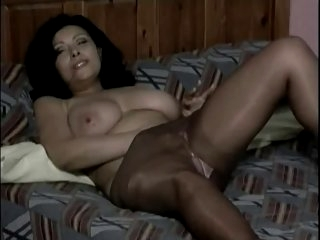 Mature in Pantyhose Fingers..