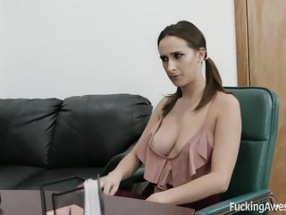 Busty Ashley Adams Gets..
