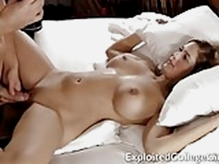Big Tit Coed Fucked and..