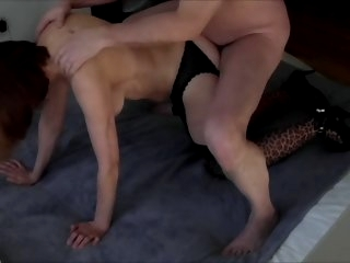 Beautiful Grandma fucked -..